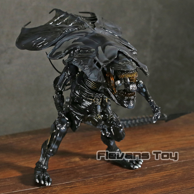Aliens Alien Queen Hybrid Metal Figuration 047 PVC Action Figure Collectible Model Toy