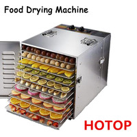 10 Layers Electric Food Meat Fruit Vegetable Herb Dehydrator Dryer Jerky Seafood Dehydrators Drying Machine Oven