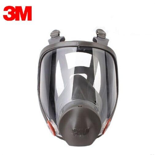 3M 6900 Respirator SIZE L Painted Single Face Mask Vapor Protection Mask Reusable Full Face Mask NIOSH&LA Approved M2056