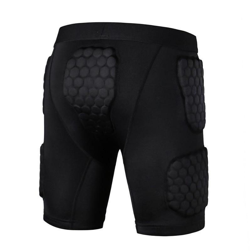 2018 Safety Honeycomb Tight Fitness Anti Collision Shorts Basketball Sports Anti Compression Shorts Sportswear j3 illinois fighting illini replica basketball shorts