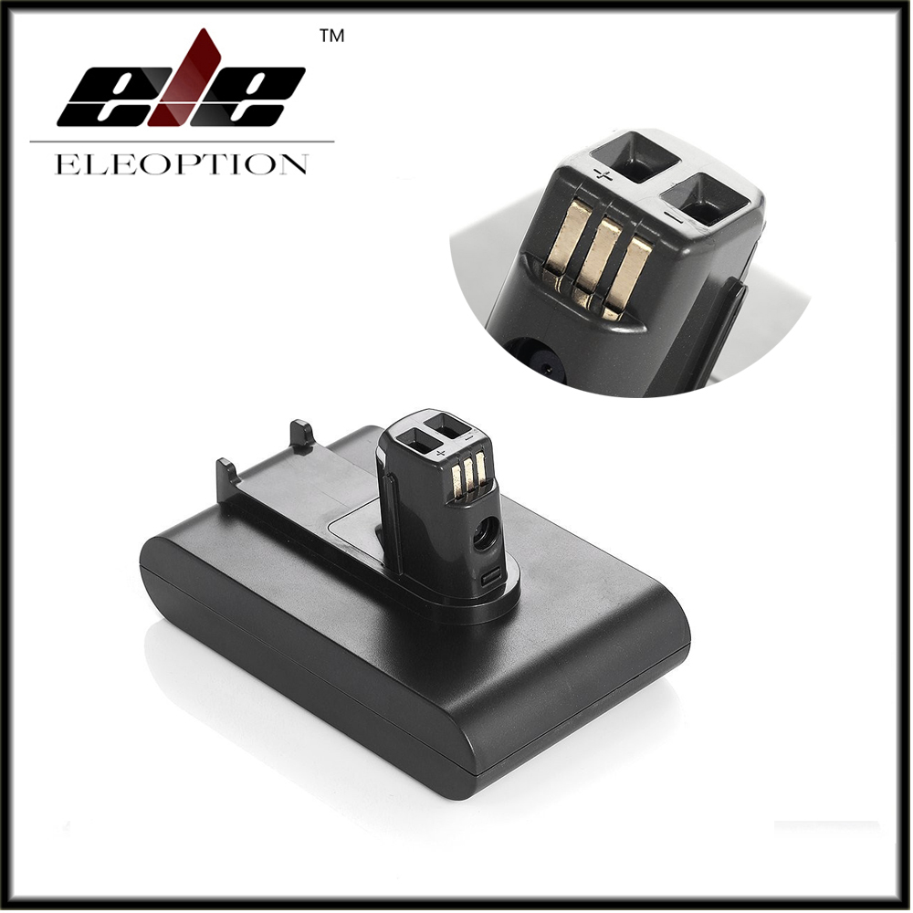 Eleoption <font><b>DC31</b></font> 22.2V 2.0Ah Rechargeable <font><b>Battery</b></font> 6-Cell for <font><b>Dyson</b></font> Handheld Vacuum Cleaner 17083 917083-07 Li-ion