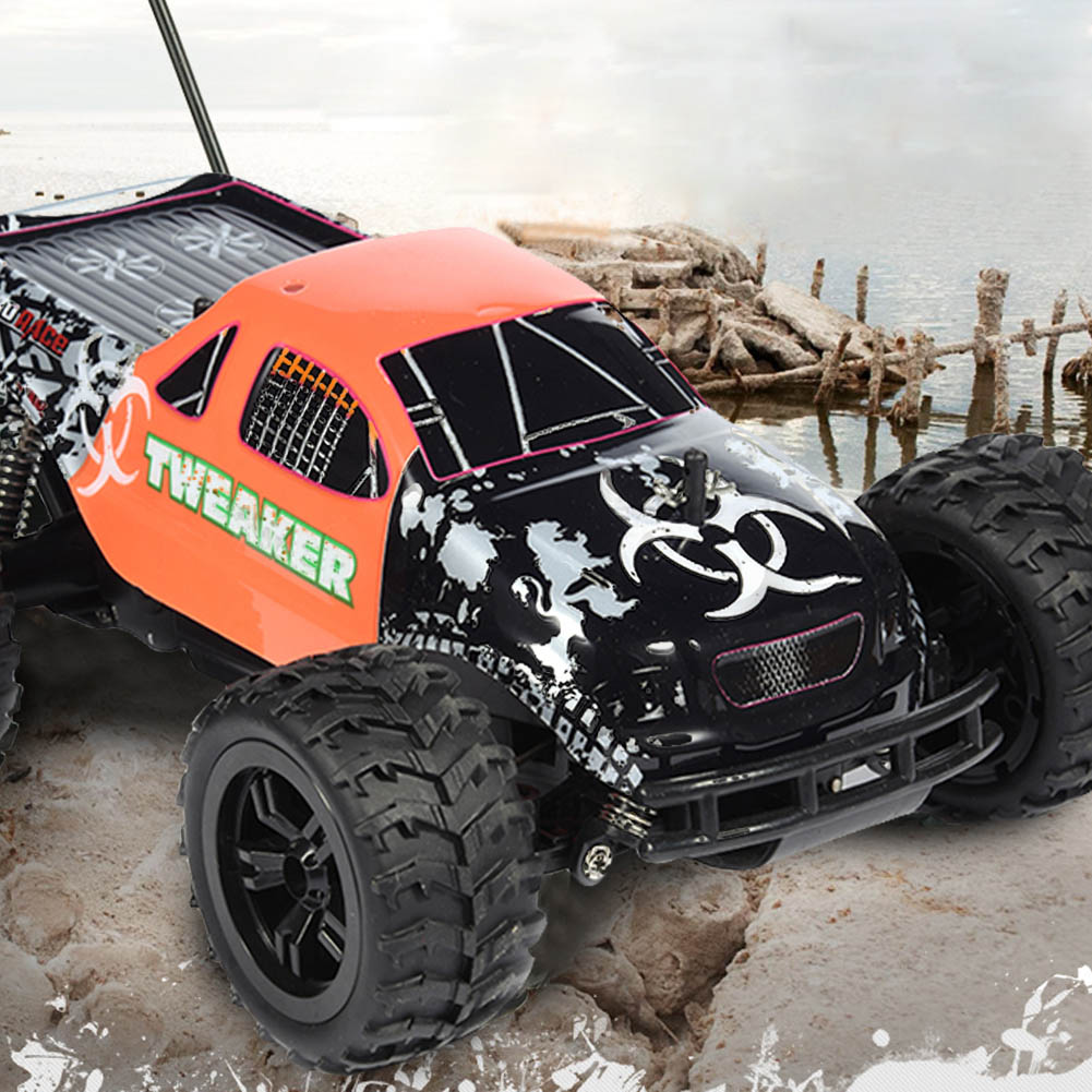 RC Car 1/18 Scale Monster Truck Toy 2.4G Off-road Racing Car Remote Control Truck Buggy Vehicle Driving Car For Kids Boys ofna hobao hyper 8sc e 1 8th rtr electric monster truck buggy 4x4 driving off road rc car remote control model vehicle toys