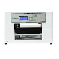 Economical Name Tag Printing Machine Solvent Flatbed Printer With High Resolution