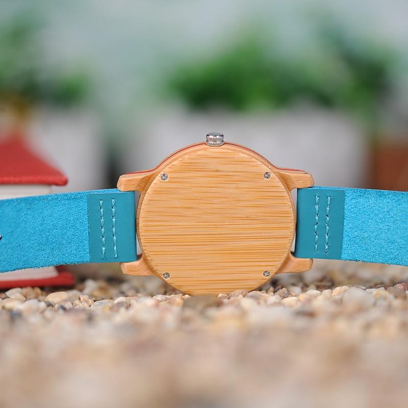 Ρολόγια BOBO BIRD Ρολόγια Μπαμπού για - Ανδρικά ρολόγια - Φωτογραφία 5