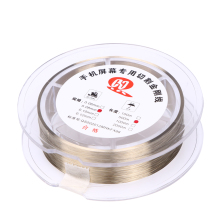 Gold Molybdenum Wire 0.08mm 500M LCD Cutting Glass Of Separation line