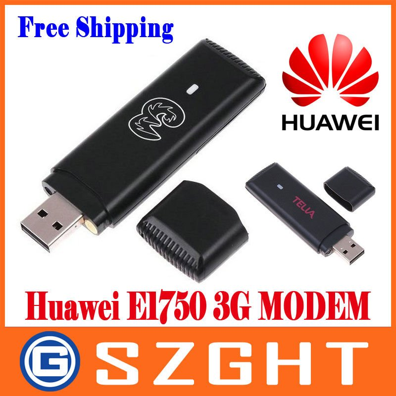 original Huawei E1750 WCDMA 3G Wireless Network Card USB Modem Adapter for PC Tablet SIM Card HSDPA EDGE GPRS Android System