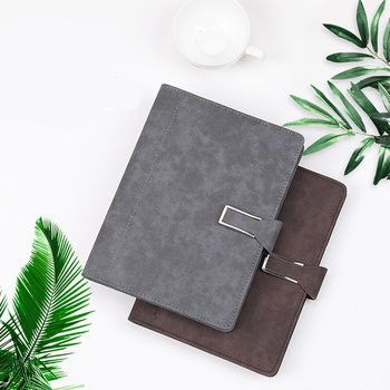 цена на A5 Loose leaf Notebook Stationery Business Leather Notebook Student Creative Office Diary
