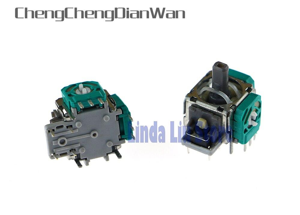 ChengChengDianWan For Playstation 4 PS4 Controller 3D Analog Sensor Repair Parts Handle Joystick 3D Module OEM 10pcs