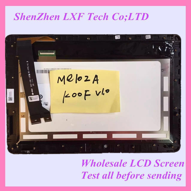For Acer Memo Pad 10 ME102 ME102A <font><b>K00F</b></font> LCD Display With Touch panel MCF-101-1856-FPC-V1.0 image
