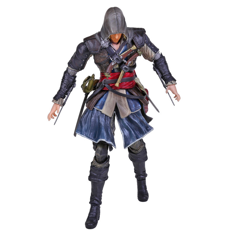 Play Arts KAI Assassin's Creed Black Flag Edward Kenway PVC Action Figure Collectible Toy 27cm RETAIL BOX fire toy deadpool pvc action figure collectible model toy 10 27cm retail box wu124
