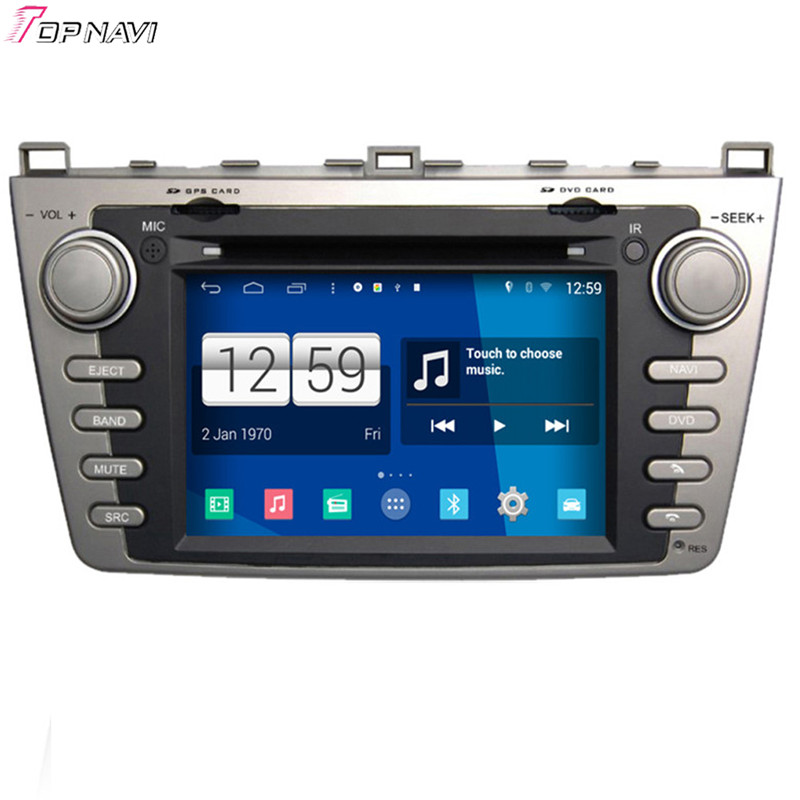 7'' Winca Quad Core S160 Android 4.4 Car DVD GPS For Mazda 6 With Mirror Link Wifi BT Stereo Radio Multimedia Free Shipping