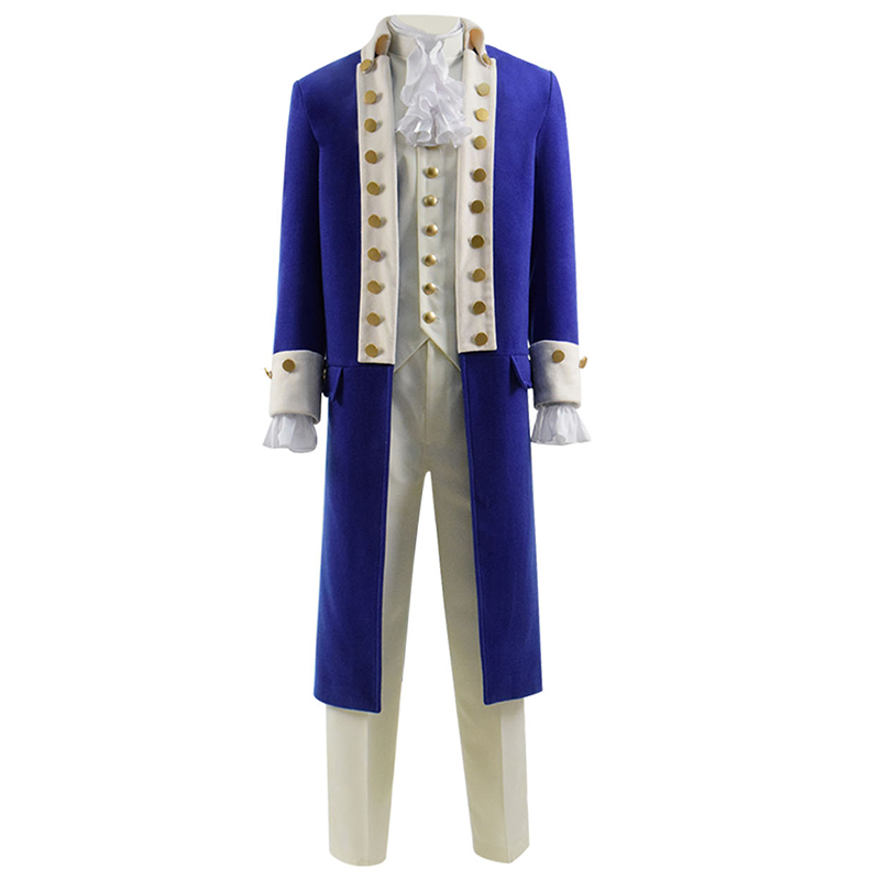 musical Hamilton Cosplay Costume Men Stage Costume Suit for Show Alexander Hamilton Cosplay-in Movie & TV costumes from Novelty & Special Use    1