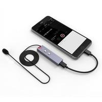 Aputure. ליירה דיגיטלי שידור מיקרופון Lavalier איכות עבור IPhone 7 plus עבור IPad IOS עם ממשק USB-C