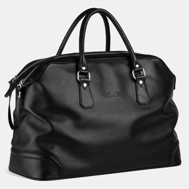 Compare Prices on Mens Black Leather Weekend Bag- Online Shopping ...