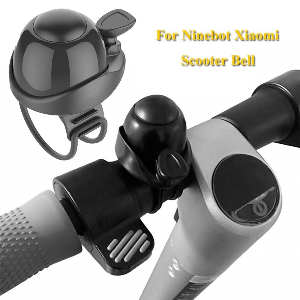 Electric Scooter Horn Bell For Xiaomi M365 Electric Skateboard Ninebot ES1 ES2 F0 Nextdrive Accessories Black High Quality(China)