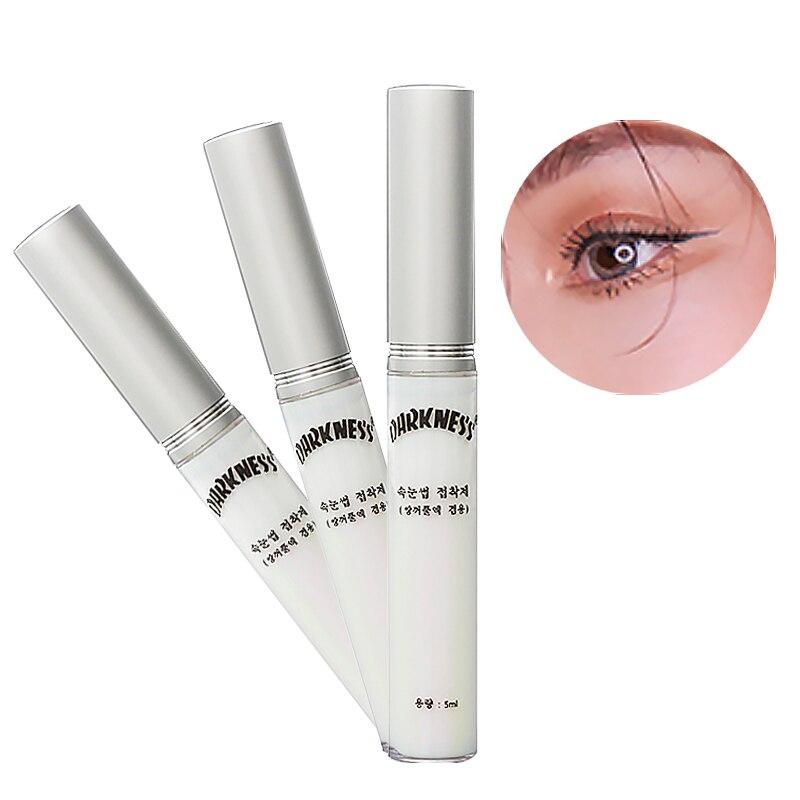 1pcs Professional Eyelash Glue Clear Color Eyelashes Coating Sealant Extension Styling Liquid Glue Beauty Eyes Care Tools
