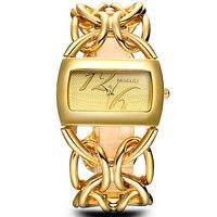 BAOSAILI Reale Placcatura In Oro Circel Cinturino Donne Orologi di Lusso Del Vestito Della Vigilanza Del Giappone Movt Fascino Delle Signore Orologio Da Polso relgio