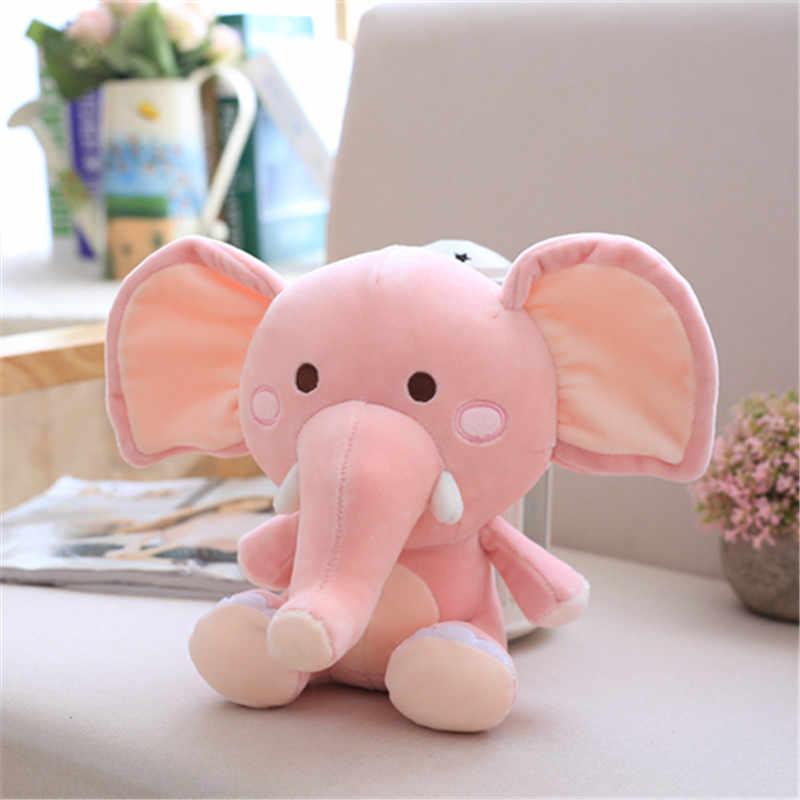 """20-48 ס""""מ 1 יחידות 3 צבע פיל ממולא בפלאש צעצוע קטיפה פיל גדול בובות לתינוק צעצוע רך צעצוע קטיפה חמודה פיל הכחול ילד"""