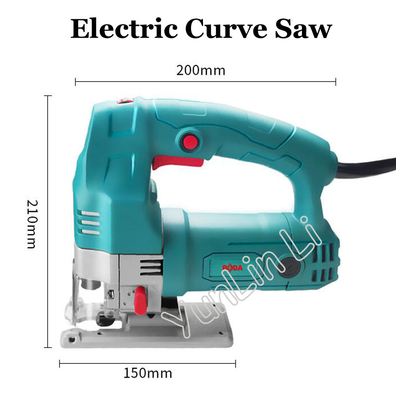 Electric Curve Saw 220V Woodworking Scroll Saw Multifunctional Hand Saws Cutting Machine Wood Saw tasp 12pcs 4 105mm pinned scroll saw blades for woodworking wood sawing