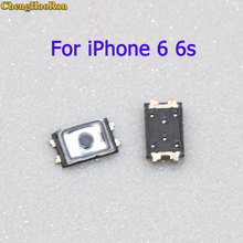 ChengHaoRan 2/5 pcs For iPhone 6 6s Power Button Switch Top Inner ON OFF Contact 2.6*1.7