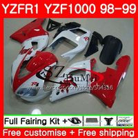 Body For YAMAHA YZF 1000 TOP YZF 1000 R 1 YZF R1 98 99 Bodywork TOP blue red 71SH7 YZF1000 YZFR1 98 99 YZF R1 1998 1999 Fairing