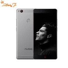 ZTE Nubia Z11 NX531J Sans Frontières 6 GB RAM 64 GB ROM Mobile Téléphone Snapdragon 820 Quad core 16.0MP D'empreintes Digitales