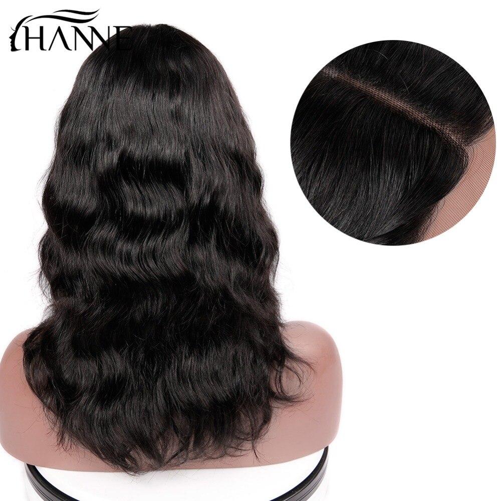 HANNE Rambut Brasil Menenun Alami Rambut Manusia Wig untuk Wanita - Pasokan kecantikan - Foto 6