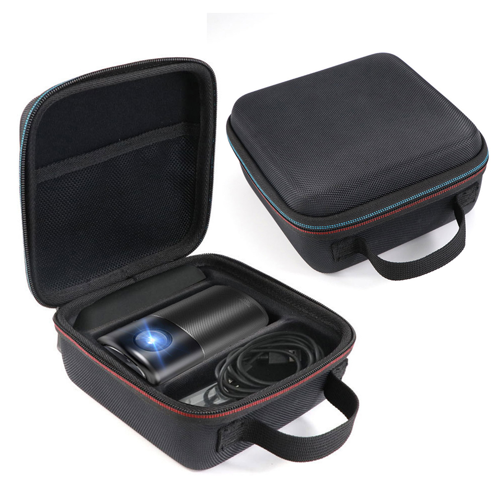Newest Hard Travel Case for Nebula Capsule Smart Mini Projector by Anker and Drive Accessories Carry Bag Protective Storage Box
