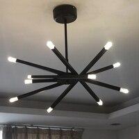 Современная люстра лампа, кулон висит Multi руку филиал фонари для домашнего потолка офисные Гостиная магазин украшения светильник