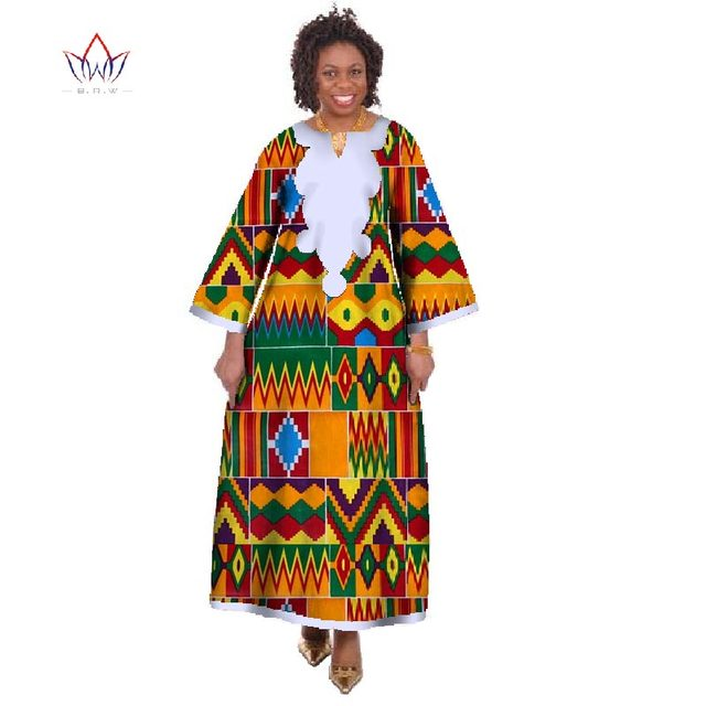 dfe5c996368a Wholesale African Dresses for Women Dashiki Ropa Africa Traditional ...