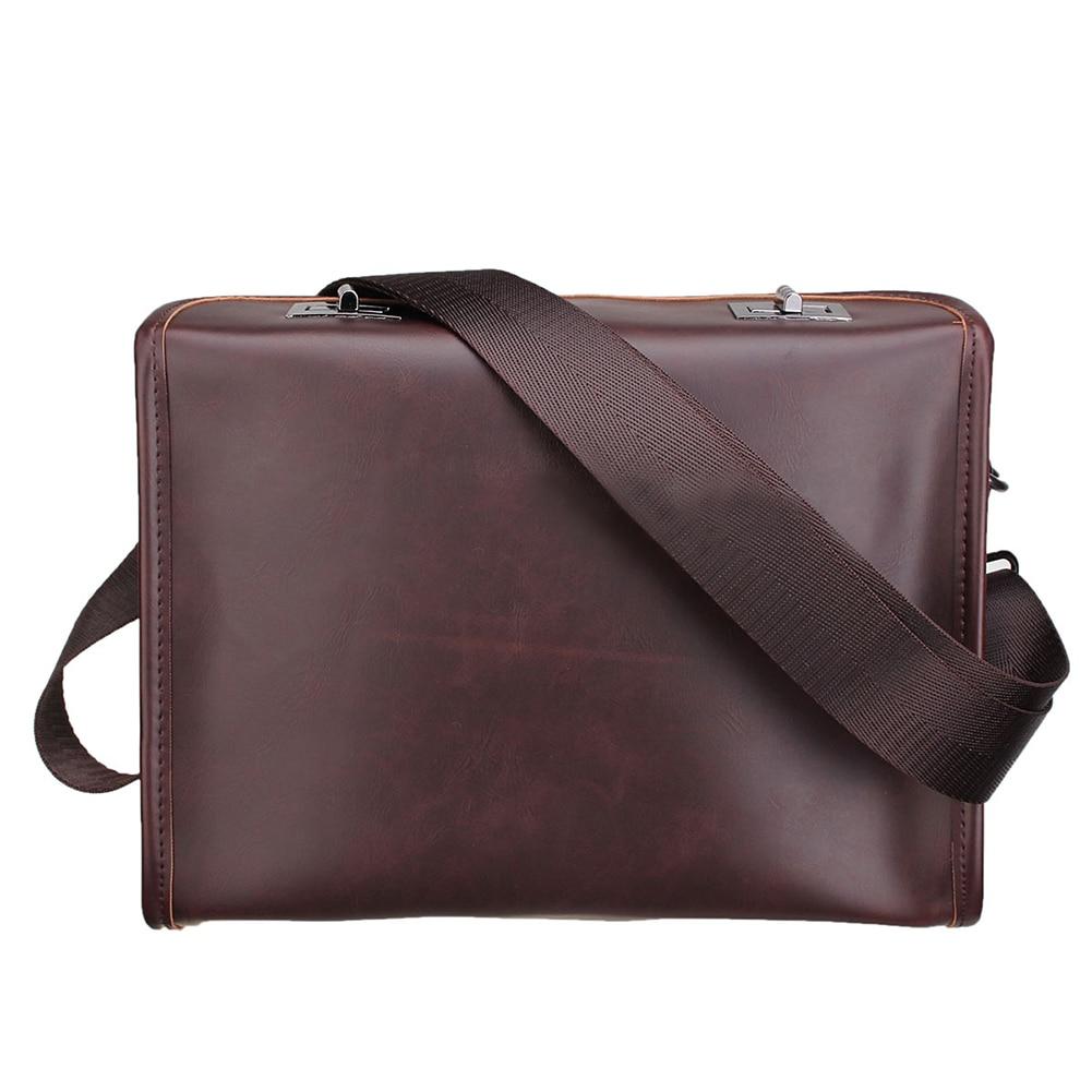 5) Для мужчин Портфели Повседневное Бизнес сумка кожаная сумка портфель