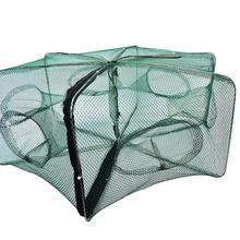 Foldable Crab Net Trap Cast Dip Cage Fishing Bait Fish Minnow Crawfish Shrimp Fishing Net