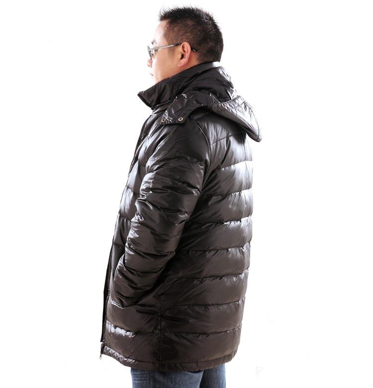Nuovo arrivo a medio lungo ispessimento giù cappotto extra large grandi Uomini giacca più il formato XL 5XL 6XL 7XL 8XL 9XL 10XL 11XL 12XL 13XL-in Giubbotti di piumino da Abbigliamento da uomo su  Gruppo 3