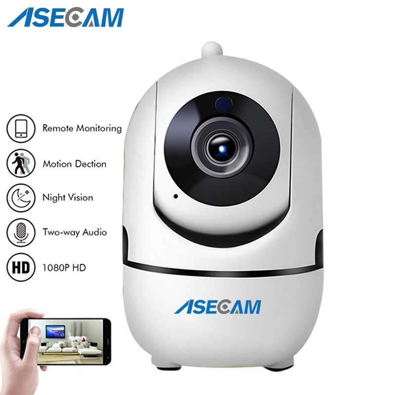 ASECAM HD 1080P Cloud Wireless IP Camera Intelligent Auto Tracking Human Home Security CCTV Network Wifi Camera Motion Detection(China)