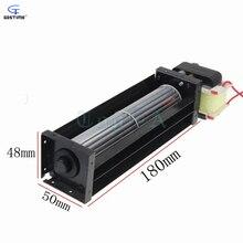 Gdstime HL30150 180x50x48 мм вентилятор переменного тока 220 В 10 Вт 0.08A перекрестный поток вентилятора 180 мм x 50 мм x 48 мм