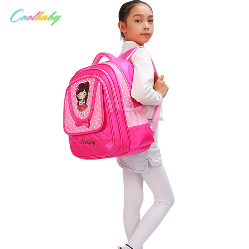 Coolbaby New School Bags for Girls Brand School Backpack Student Shoulder Bag Fashion Wholesale Kids Backpacks ...
