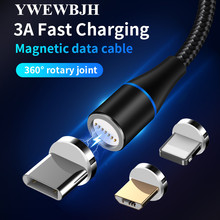 YWEWBJH Magnetic Cable Micro usb Type C Fast Charging Phone Type-C Magnet Charger c For iphone Samsung