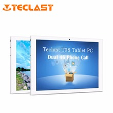 Teclast T98 4G Phablet MTK8735 Android 5.1 Quad Core 1GB RAM+16GB ROM Dual Camera Bluetooth OTG IPS Screen 10.1 inch Tablet PC(China (Mainland))