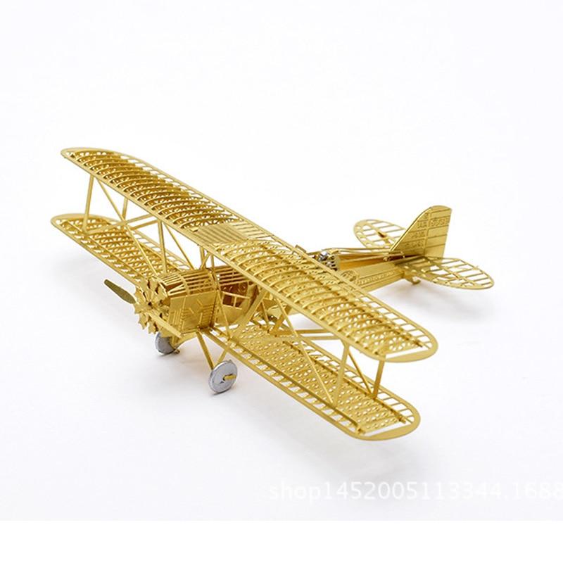 3D puzzle DIY toy paper assemble battleplane fighter plane airplane present 1set
