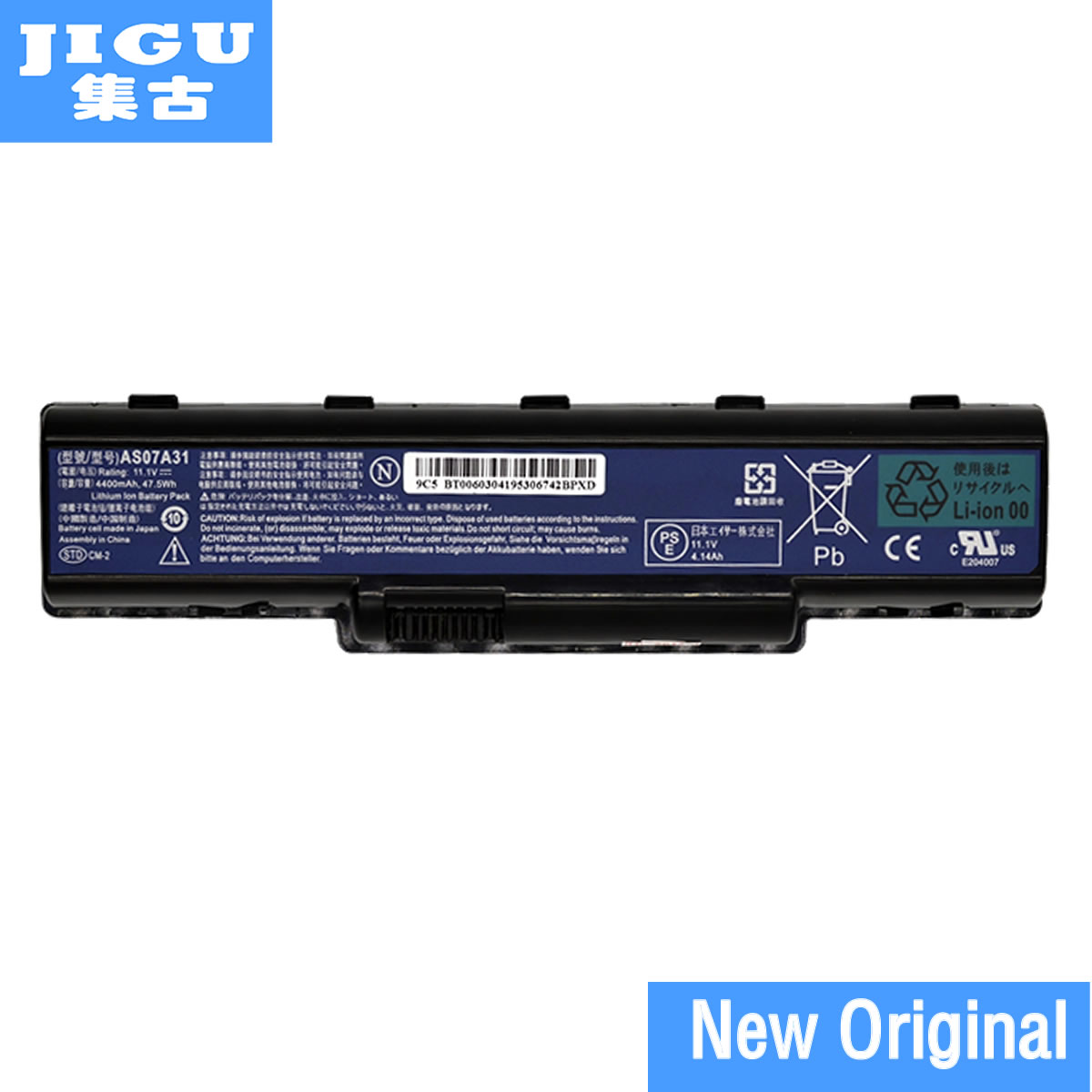 JIGU AS07A31 AS07A32 AS07A41 AS07A42 AS07A51 AS07A52 AS07A71 AS07A72 as07a75 Original Laptop Battery For ACER image