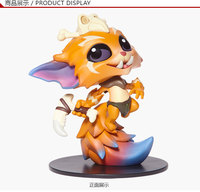 NOVO 1 pcs 8 CM pvc anime figura Gnar O Elo Que Faltava action figure collectible modelo brinquedos brinquedos