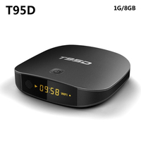 T95D Android TV Box Rockchip RK3229 Quad Core Android 6 0 TV Box RAM 1GB DDR3