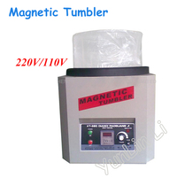 Reversing Magnetic Tumbler 110V/220V Jewelry Polishing Machine Goldsmith Tools 1300g Capacity KT 360A