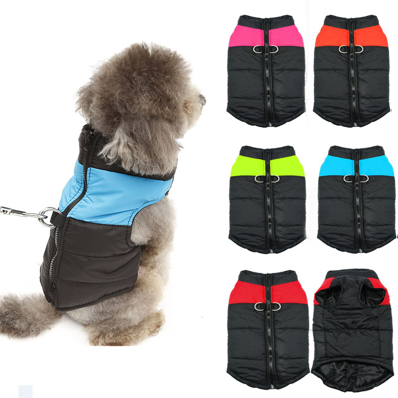 Waterproof Warm Pet Dog Puppy Vest Jacket Chihuahua Clothing Warm Winter Dog Clothes Coat For Small Medium Large Dog Cat Clothes