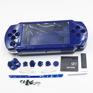 Image 2 - 9 kolory opcjonalnie obudowa Shell skrzynki pokrywa wymiana dla PSP1000 PSP 1000 konsola do gier do naprawy części