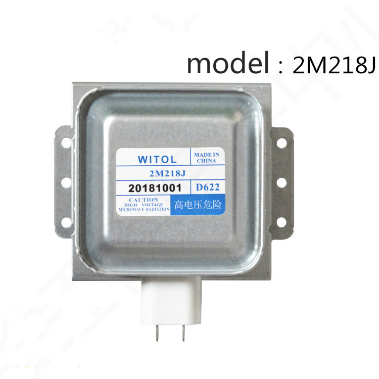 Original 2M218J Midea Galanz Permatron Magnetron With WITOL Electronic Microwave Oven Accessories Can Replace 2M217J 2M518J