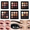 Terra 9 Cores Pigment Eyeshadow Palette Cosméticos Maquiagem Sombra de Olho Colorido Sombra Conjunto Paleta