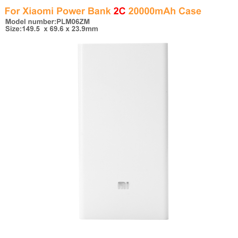 Latest model Silicone Case Cover for <font><b>Xiaomi</b></font> <font><b>Power</b></font> <font><b>Bank</b></font> <font><b>2C</b></font> <font><b>20000mAh</b></font> 100% Fit For <font><b>Xiaomi</b></font> <font><b>mi</b></font> <font><b>2C</b></font> Powerbank covers gel rubber cases image