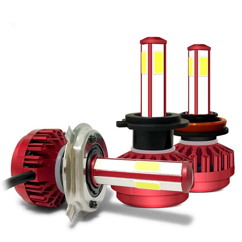 AZGIANT Super Mini luminosité supérieure phare 4-Side lampe 360 degrés pas d'angle mort éclairage blanc froid 6000 K brouillard lampe pour voiture