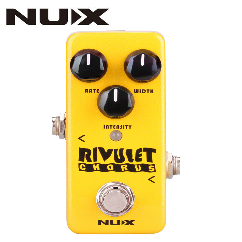 NUX NCH-2 RIVULET Chorus Guitar Effect Pedal Buffered/ True Bypass Supports USB Firmware Upgrade Effects Guitar Pedal AccessoryNUX NCH-2 RIVULET Chorus Guitar Effect Pedal Buffered/ True Bypass Supports USB Firmware Upgrade Effects Guitar Pedal Accessory